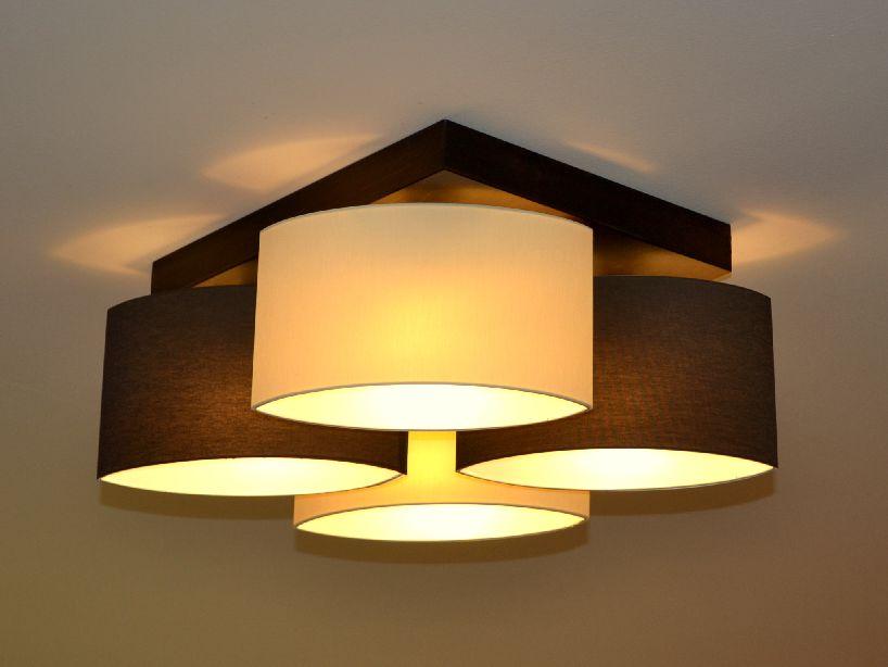 Deckenlampe Wohnzimmer Holz - Vigcity.com