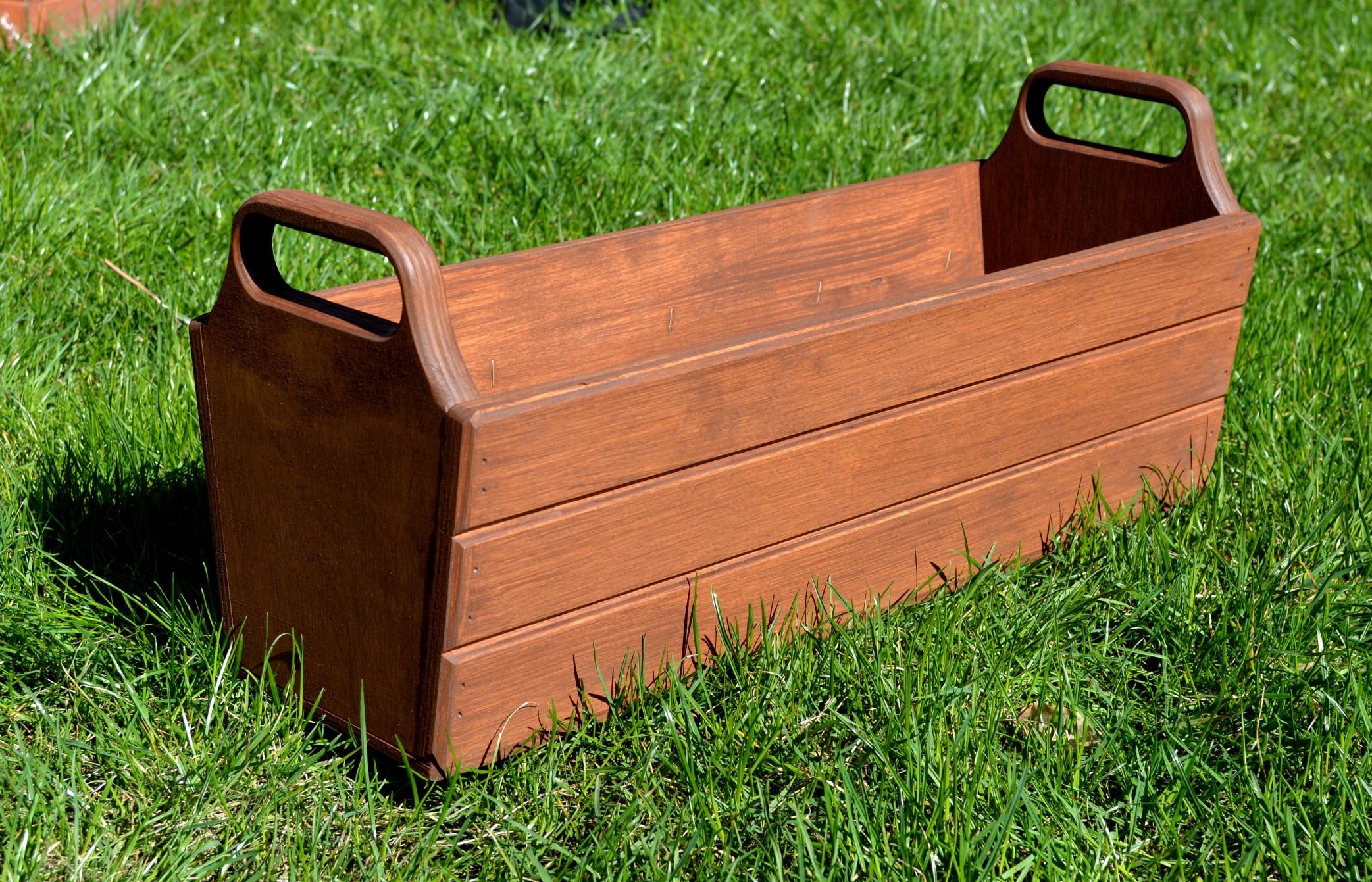 pflanzk bel aus holz d11 50 70 cm pflanzkasten. Black Bedroom Furniture Sets. Home Design Ideas