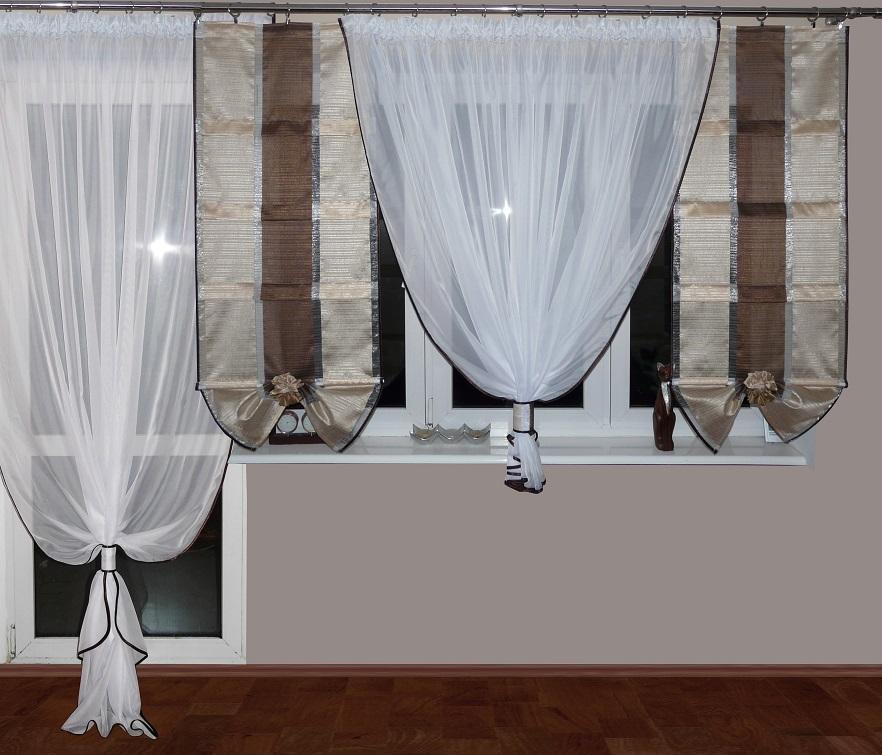 sch ne fertiggardine neu ag9a gardine aus voile top vorhang balkont r set ebay. Black Bedroom Furniture Sets. Home Design Ideas
