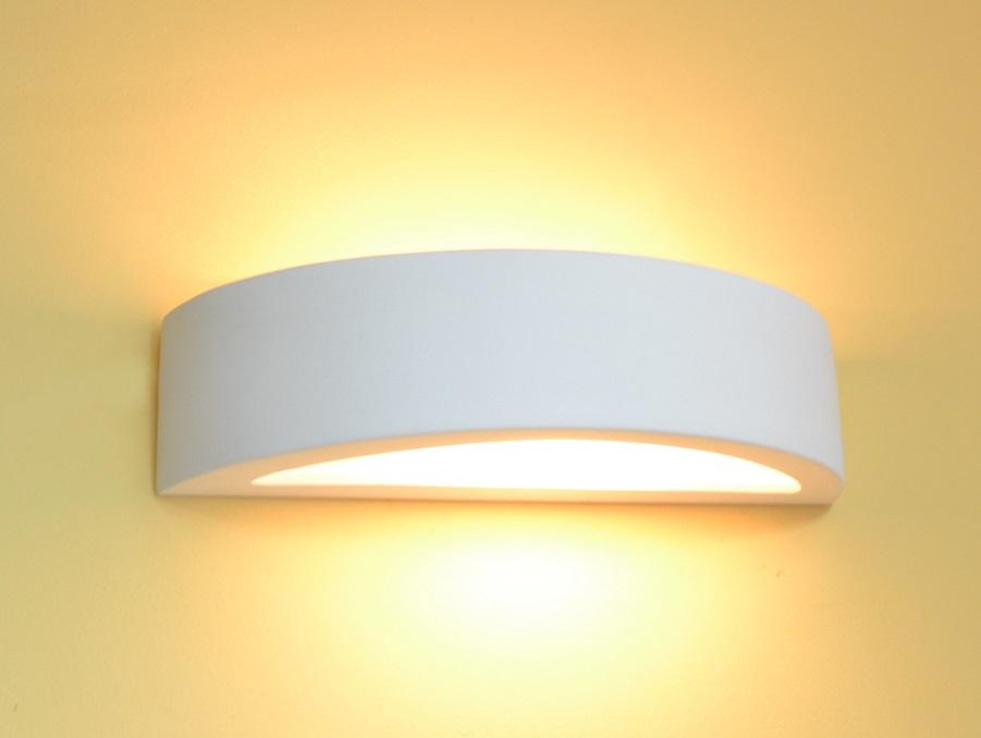 Keramik Wandlampe Wandleuchte Lampe bemalbare Leuchte Flurlampe Steffen 2 braun