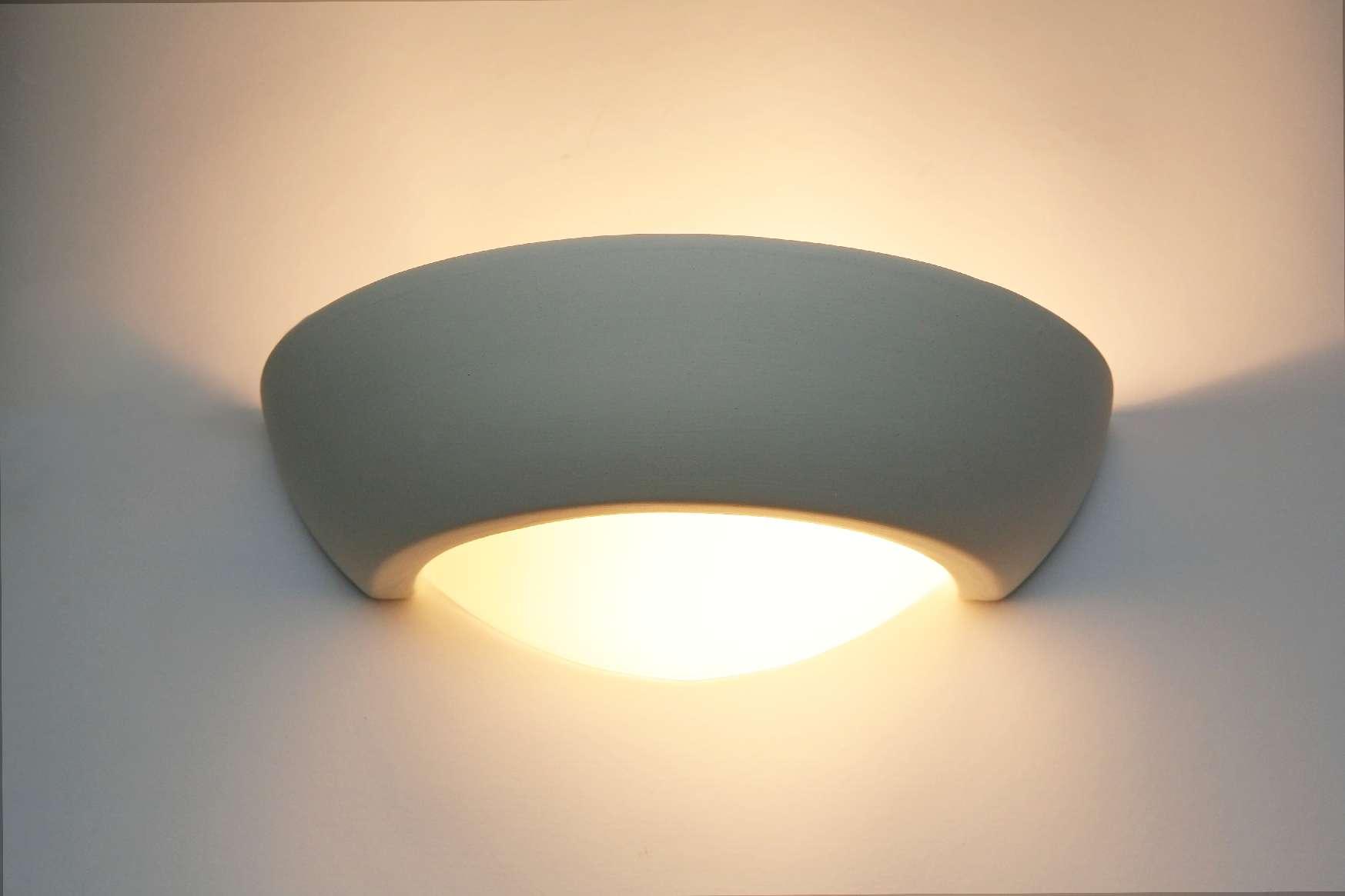 Plafoniere Da Parete Alternative : Ceramica lampada da parete colorabile luce pavimento steffen