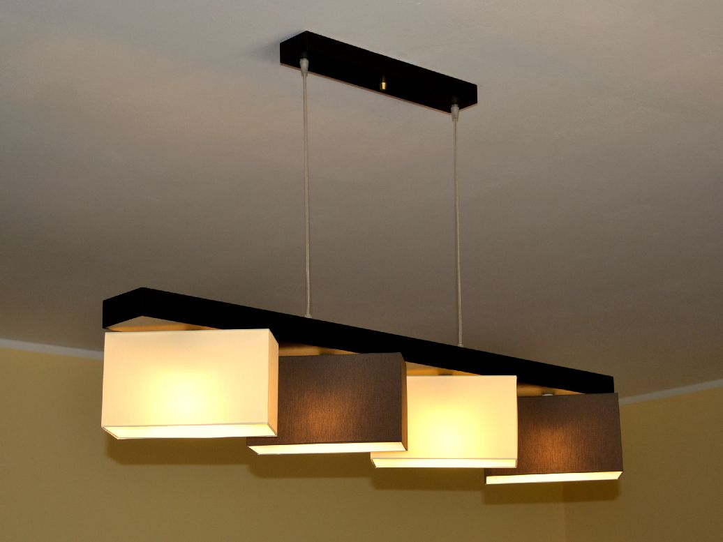 h ngeleuchte h ngelampe designerleuchte milo 4 leuchte lampe wohnzimmer modern ebay. Black Bedroom Furniture Sets. Home Design Ideas