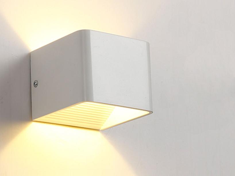 LED Wandlampe Wandleuchte YH2 9W Strahler Warmweiß Flurlicht Treppen Wohnzimmer