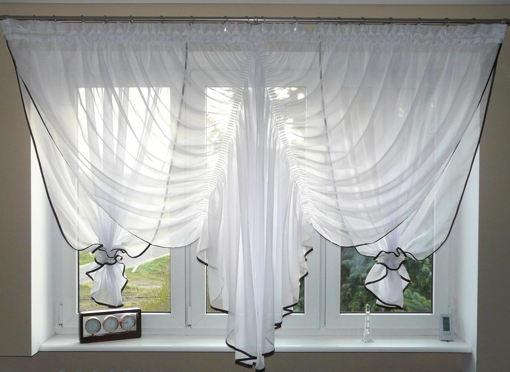fertiggardine aus voile design vorhang balkont r sch ne. Black Bedroom Furniture Sets. Home Design Ideas