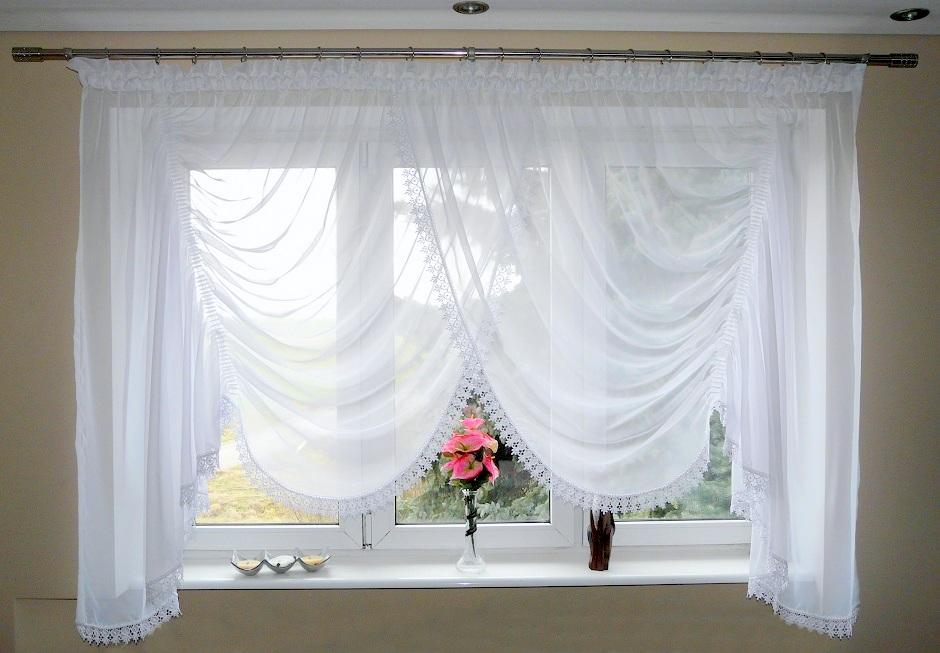 fertiggardine aus voile sch ne gardine ag4 modern wei fenstergardine fenster ebay. Black Bedroom Furniture Sets. Home Design Ideas