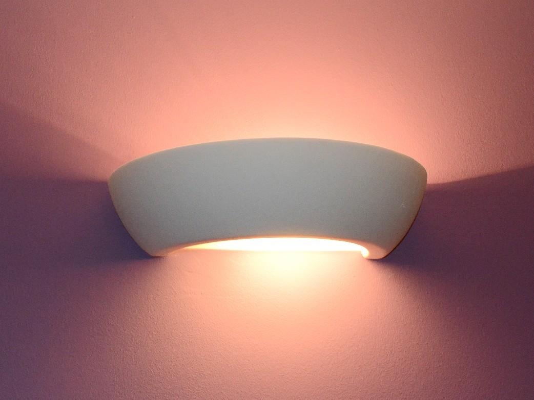 NEU Wandlampe Keramik Wandleuchte Lampe Leuchte Seiko Braun Top Design Modern
